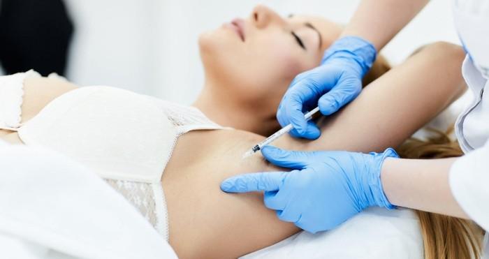 услуга лечения гипергидроза